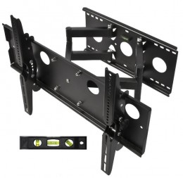 My Choice for Top Wall Mount - Full Motion Dual Arm from Cheetah
