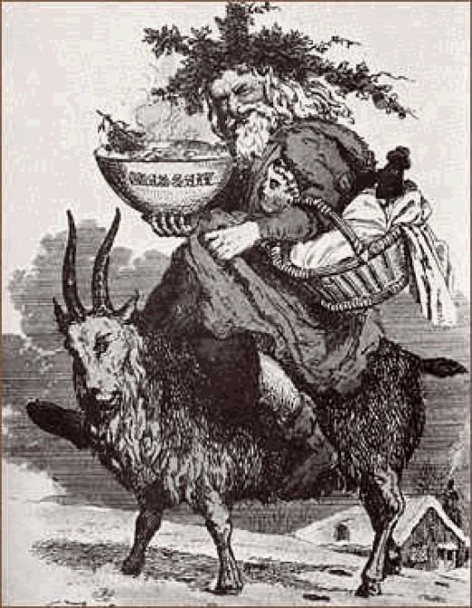 Santa and Goat