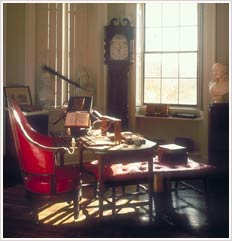 The Cabinet room.
