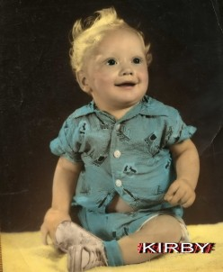 My little brother Kirby Born 1955 Died 1974