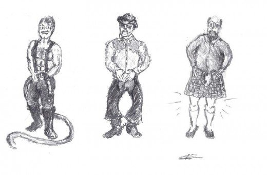 The universally accepted top three most masculine male body types.