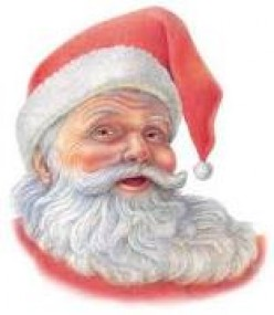 christmas gifts for free; courtsy father christmas