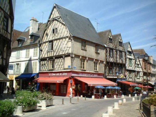 rue Gordaine Bourges France