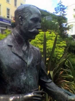 sir edward elgar's statue, great malvern