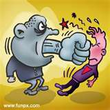 Harsh criticism is like a slap in the face.  It hurts and it damages relationships.