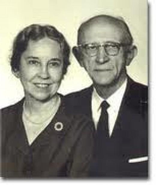 Vance Havner and his wife, Sara Havner