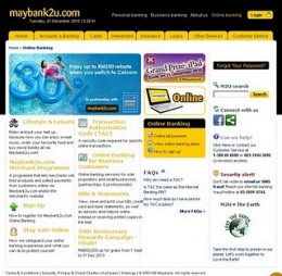 Benefits of Online banking at maybank2u.