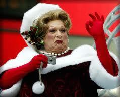 Harvey Fierstein 1954 as Mrs. Santa Claus Actor, playwright