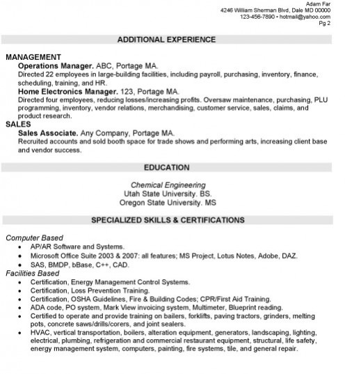 loss prevention resume objective 28 images retail loss