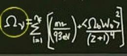 Illustration 3: Density- Neutrinos