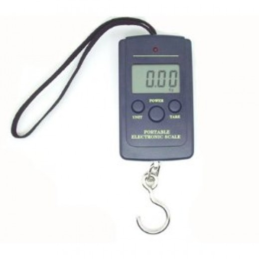 40KG Portable Digital Hangging Luggage Fishing Scale