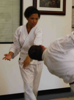 What you learn on the mat can actually help improve relationships at home.