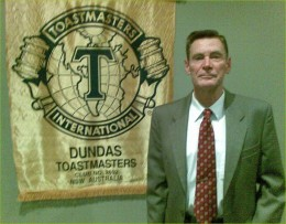 Over a period of 38 years, Tusitala Tom has spent around 25 of those years as a Toastmaster member.  He was also a member of Rostrum Clubs of NSW, The National Speakers' Assoc. of Aust. and the Australian Storytellers Guild.