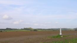 The Dutch border at Mesch, Limburg