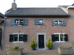 Picturesque house at Mesch, The Netherlands