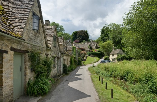 Cottages in the Cotswolds, England