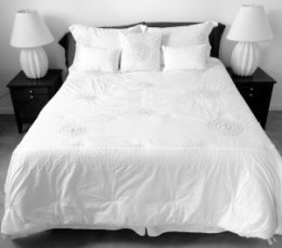A memory foam mattress pad can make sleep much more comfortable for some (but not all!) people.