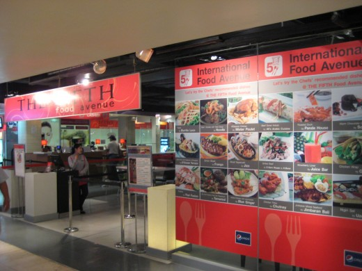 Fifth Avenue International Food Court in MBK