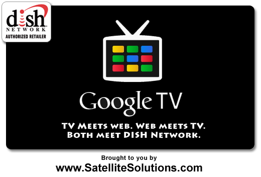 The Internet can now be a channel on your TV. With Google TV, your HDTV, and your DISH Network subscription you are now free to surf the web from the comfort of your couch.