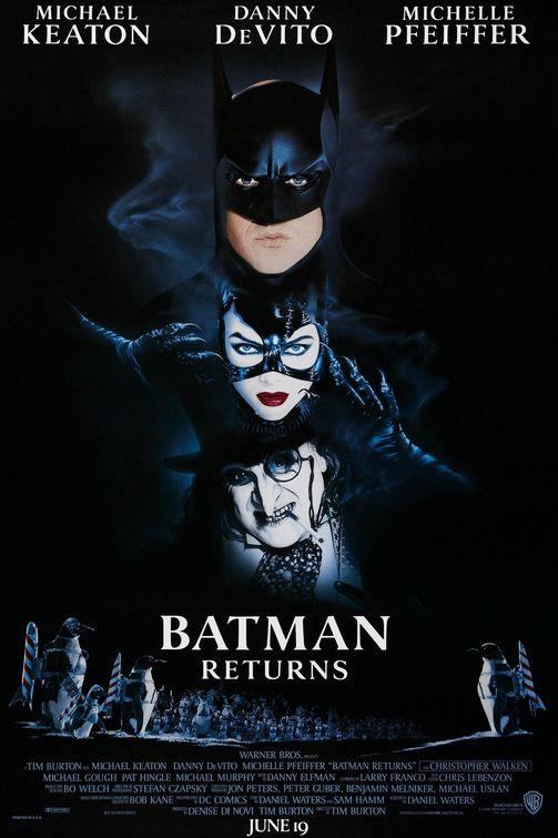 Batman Returns movie poster, courtesy of impawards.com