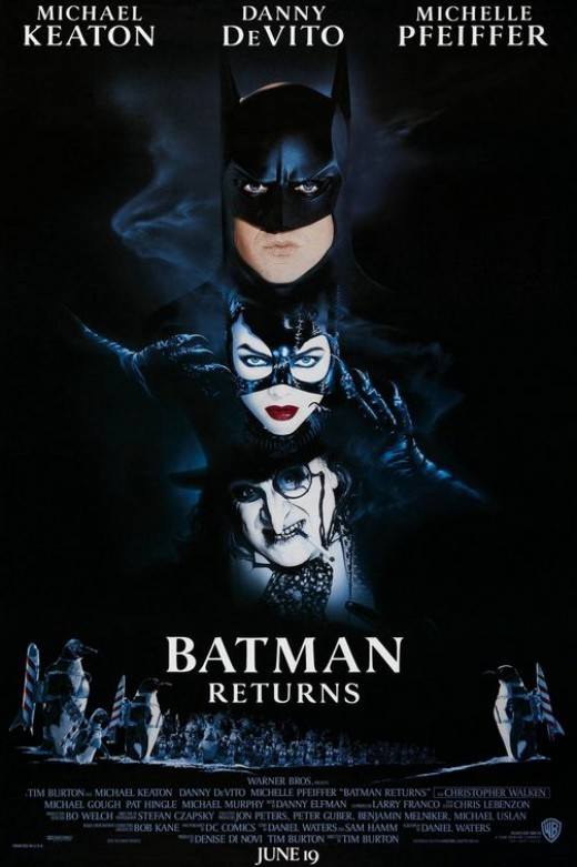 Batman Returns movie poster, courtesy of impawards.com