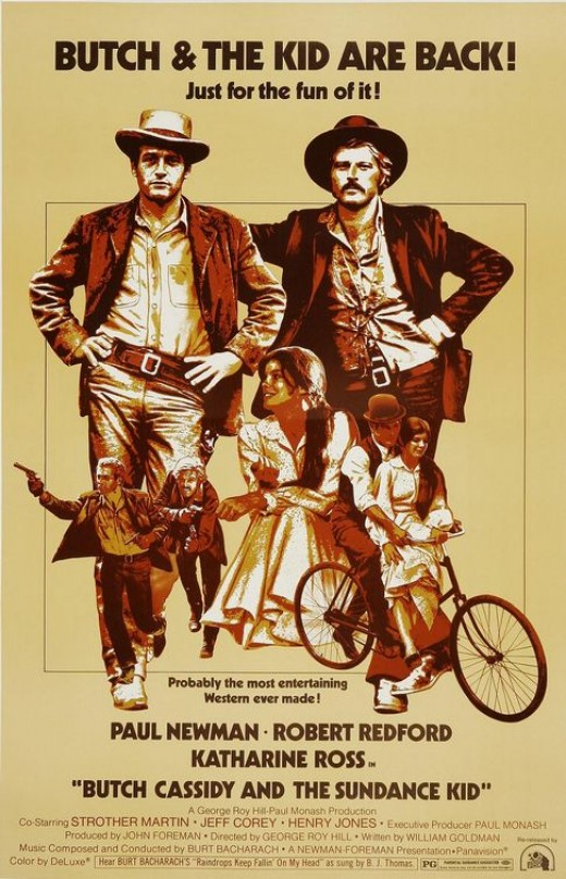 Butch Cassidy and the Sundance Kid movie poster, courtesy of impawards.com