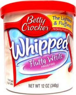 Betty Crocker Whipped Frosting