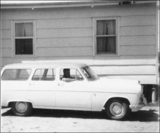 Our house in Lamaroo, South Australia 1967