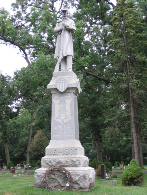Civil War Memorial Maine Cemetery