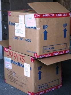 Outreach Relief Boxes