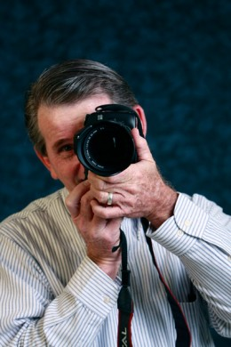 This is me, but not yet with a Canon 100-400mm lens on my Canon Digital SLR Camera