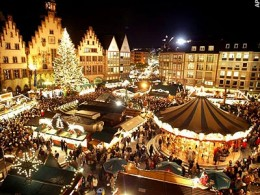 Frankfurt has one of Germany's oldest and largest Christmas markets.