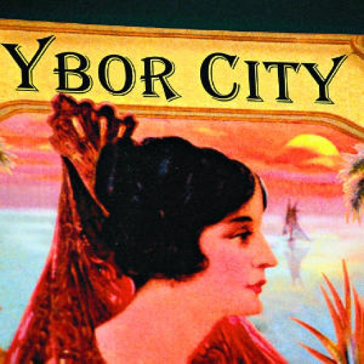 Illustration Showing Ybor's Hispanic Culture & History