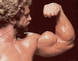 Do your curls on a regular basis and you too will have big guns