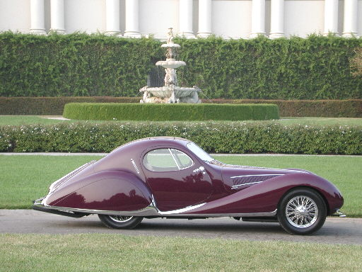 1937 Talbot Lago Teardrop. One of only 9 in the world! Photo courtesy of webbwax.com