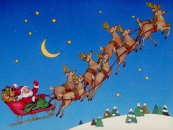 What do you think Santa will do if one of his reindeer gets sick tonight?