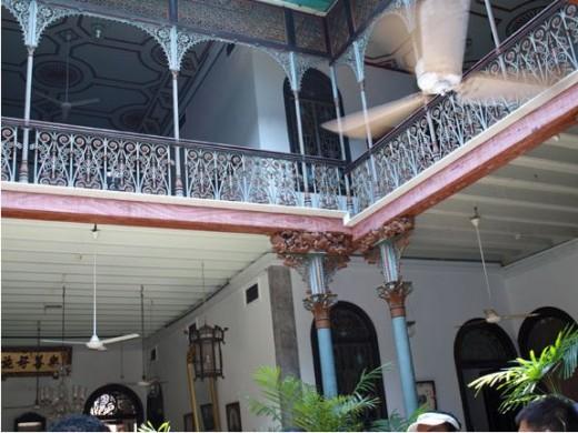 Courtyard in Cheong Fatt Tze Mansion