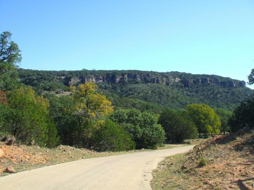 A Texas Hill Country Road
