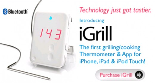 iGrill is an app for checking the temperature of your foods at home.