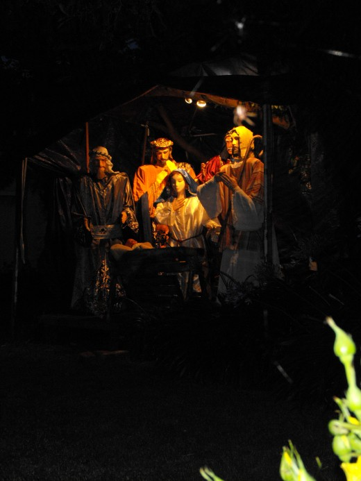 A moving Nativity
