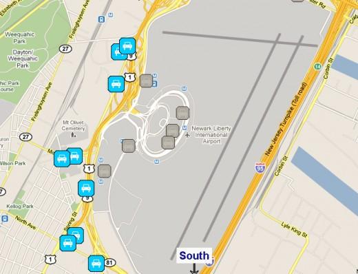 newark airport  site parking