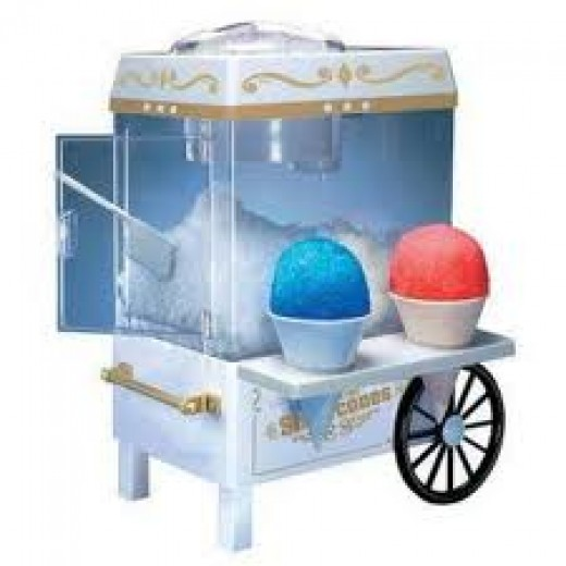 The Electric Snow Cone Maker