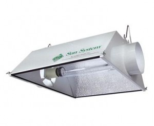 HPS light with hood