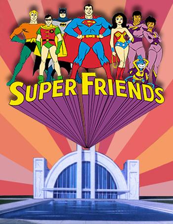 Featuring The Wonder Twins - Zan & Jayna plus the space monkey Gleek
