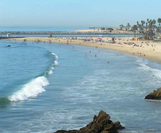 Corona Del Mar State Beach, California