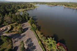 Lake Huay Tung Tao Fresh Water Reservoir, Chiang Mai, Thailand