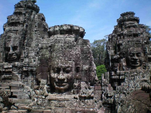 Angkor Thom Temple - Siem Reap Cambodia