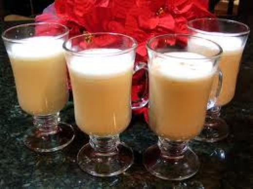 Hot Buttered Rum - Always a cold weather favorite