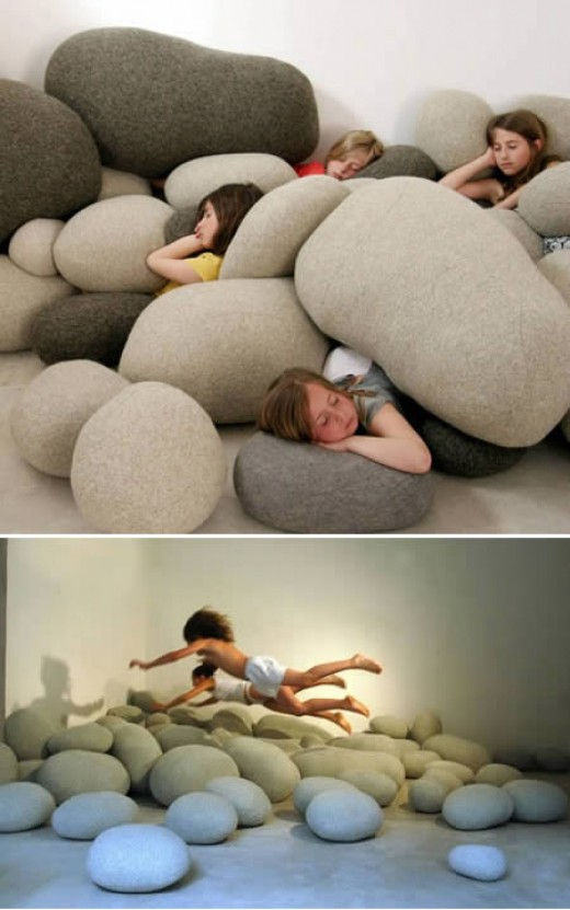 "Again, these just look like too much fun to be pillows. If I had these as a child, I'd be building forts day and night. P.S. You get bonus points if you got the ""Planes Trains and Automobiles"" referance!"