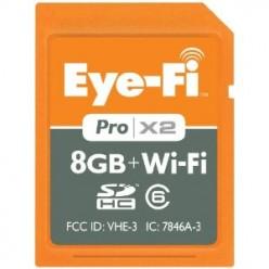 Eye-Fi X2 SDHC Cards Wireless Uploads to Computer or Internet